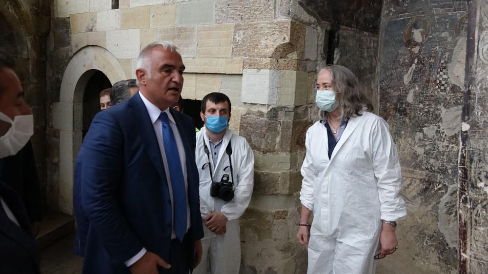 Sümela Manastırı 5 yıl sonra ziyarete açıldı - 14
