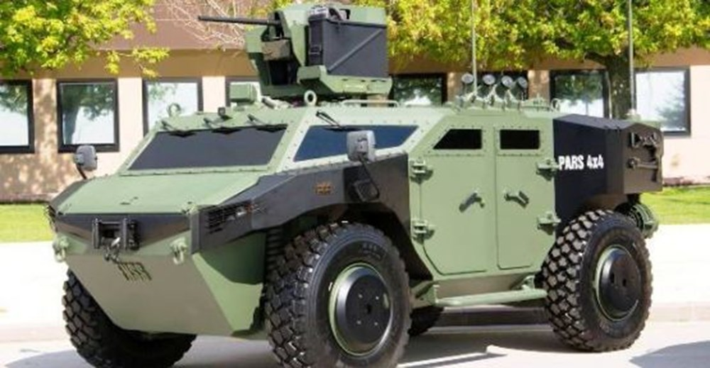 Türkiye'nin silahları, türkiye nin silah gücü, pars 4X4