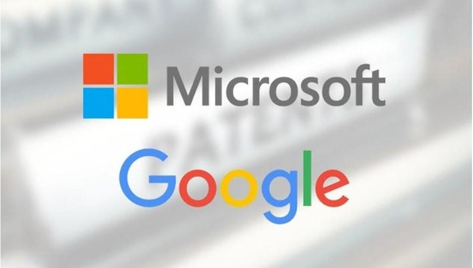İlk çeyrekte Microsoft 15.5, Google 17.9 milyar dolar kar yazdı