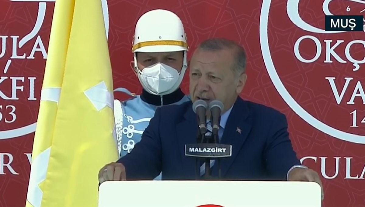 Cumhurbaşkanı Erdoğan: Tarihimizde kolay kazanılmış zafer yok