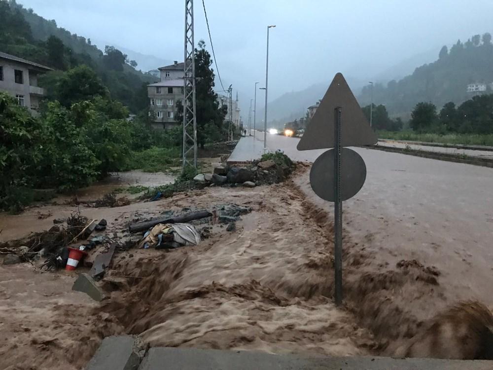 Şiddetli yağış Rize'yi de vurdu: 2 can kaybı - 36