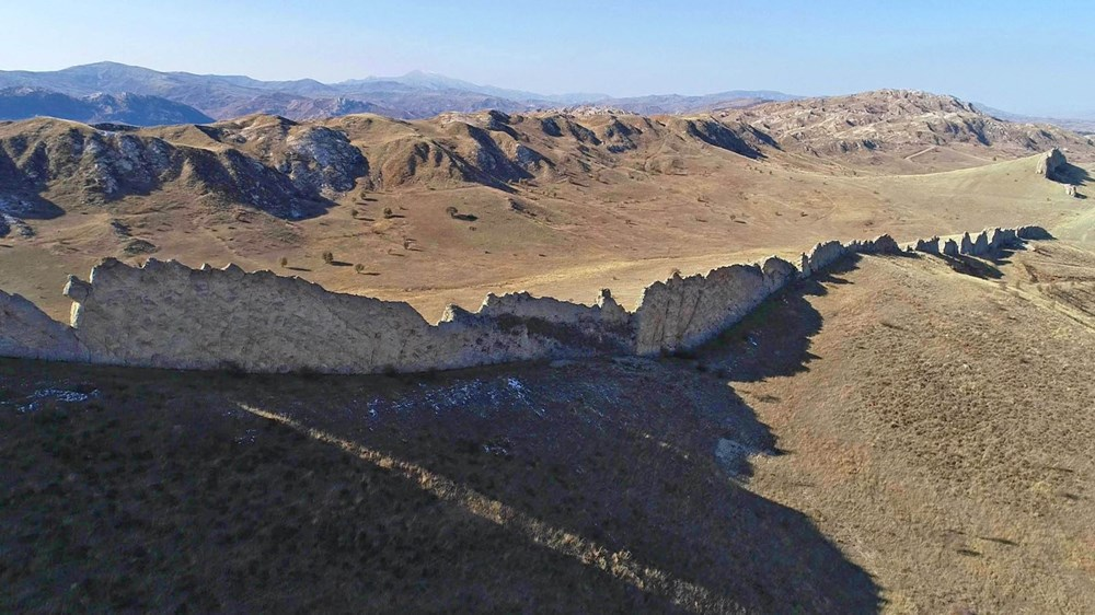 This is Sivas, not China!  Called 'The Natural Great Wall of China' - 1