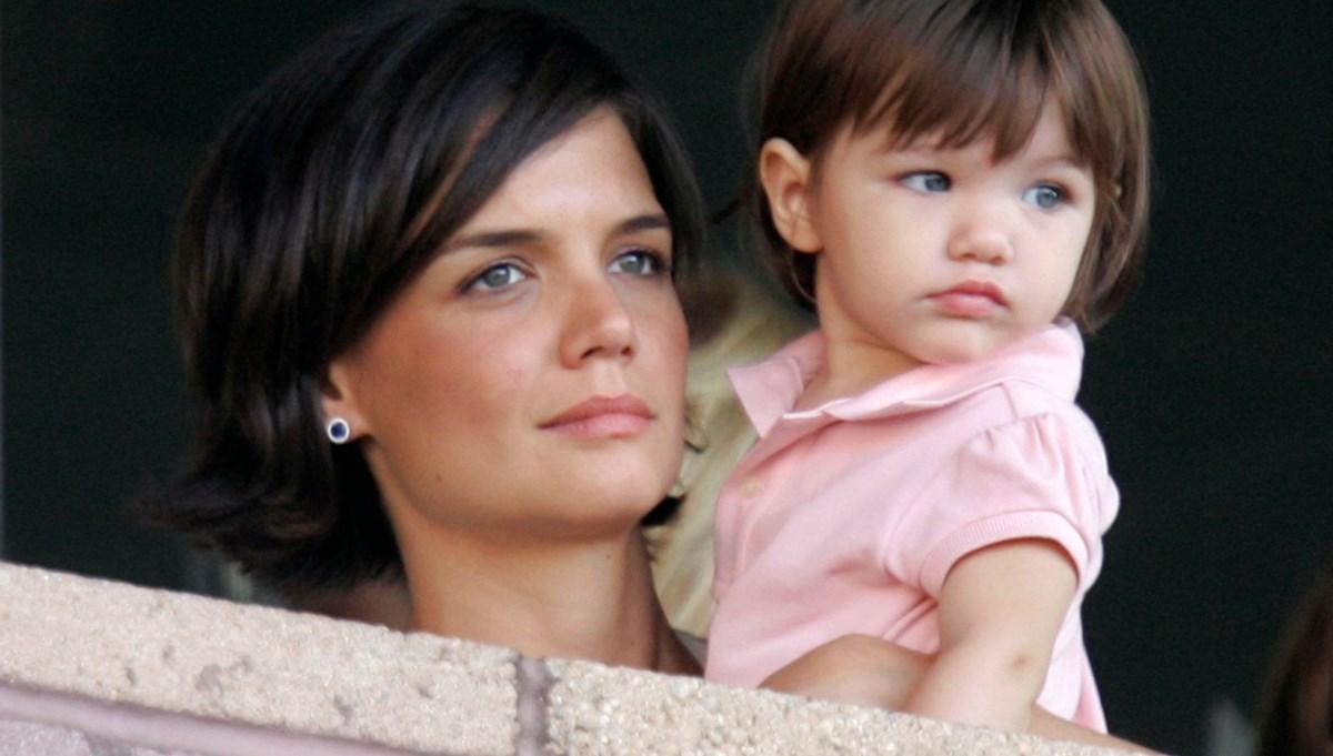 Katie Holmes ve Tom Cruise'un kızları Suri artık 15 yaşında