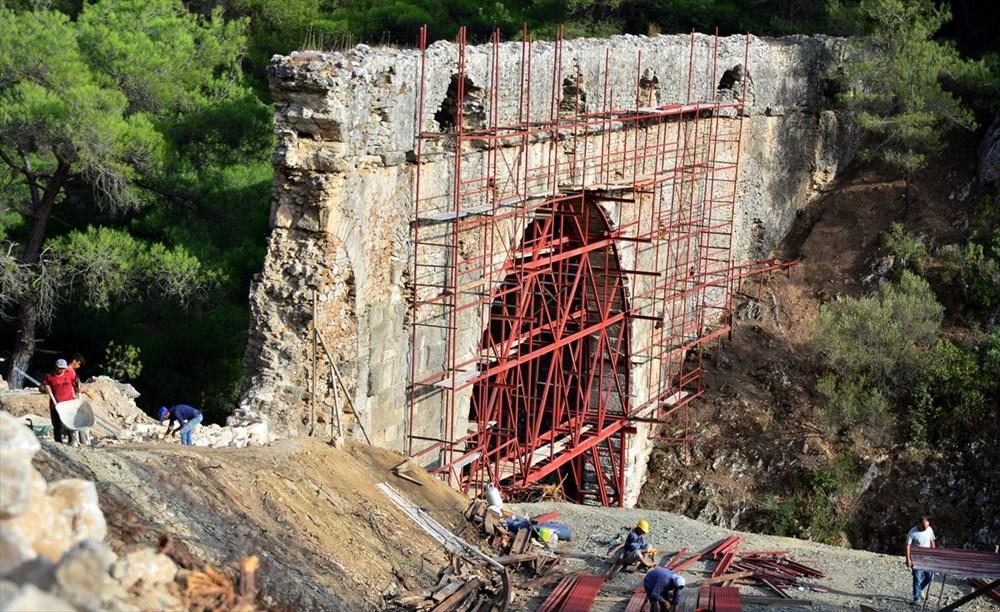 Troya'nın 3 bin 500 yıllık su kemeri restore ediliyor - 10