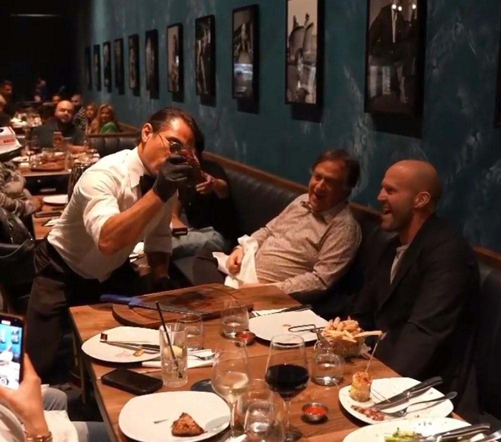 Nusret ile Jason Statham buluştu - 5