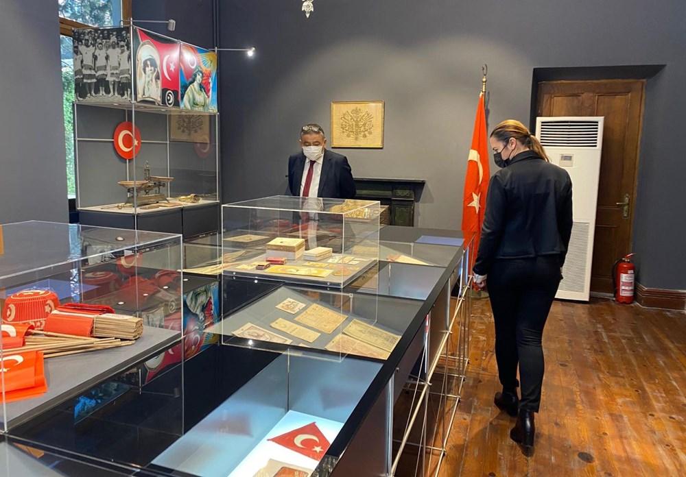 Türkiye'nin ilk milli bayrak müzesi tarihe ışık tutuyor - 4