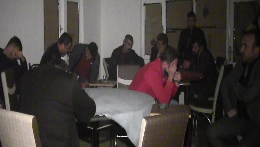 """Beypazarı'nda """"kumar"""" operasyonu: 18 gözaltı"""