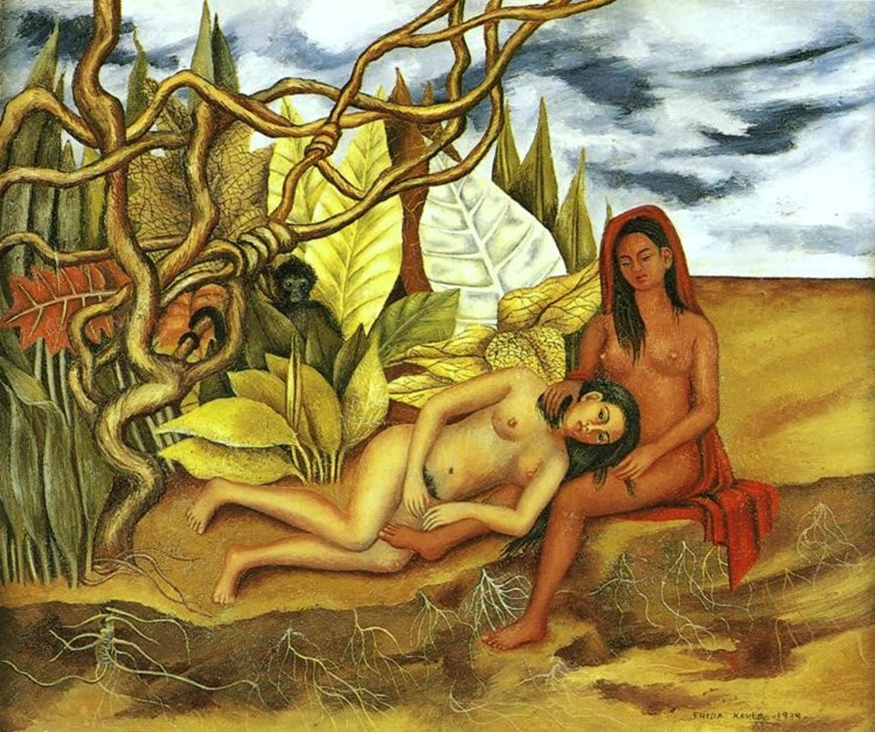Two Nudes in the Forest, 1939 (Frida Kahlo)