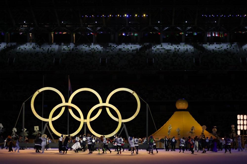 2020 Tokyo Olimpiyatları görkemli açılış töreniyle başladı - 44
