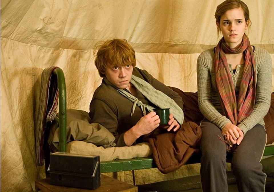 Rupert Grint ve Emma Watson (2010)