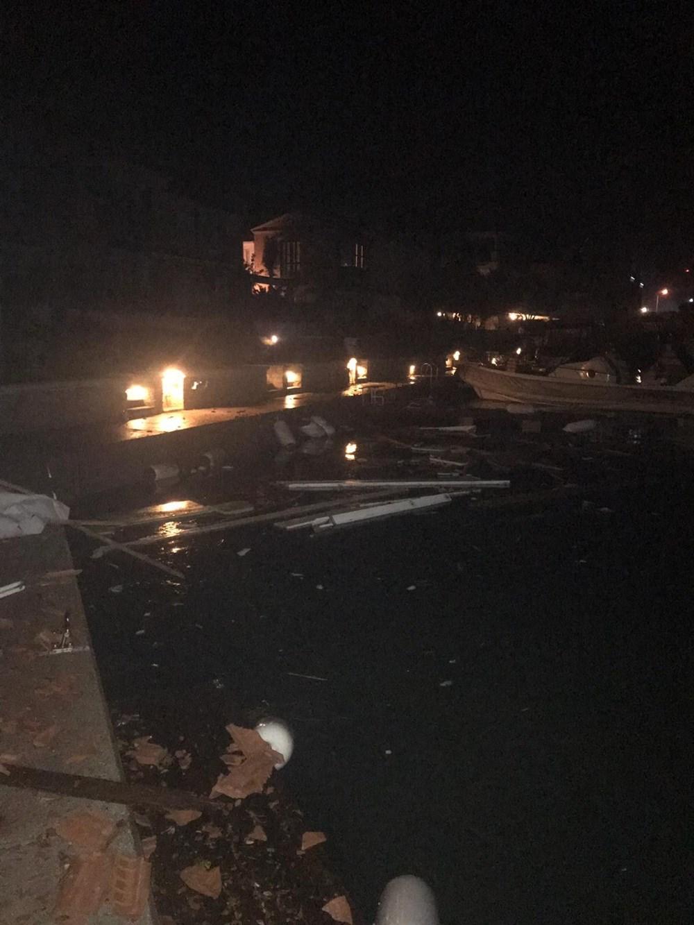 İzmir Alaçatı'da hortum: 16 yaralı - 9