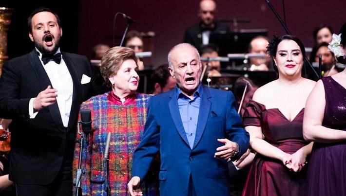 'Operanın Sevgilileri'sahnede buluştu