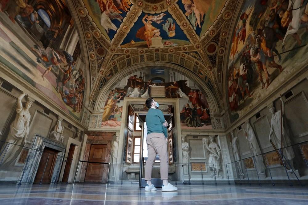 Vatikan Müzesi yeniden ziyarete açıldı - 6