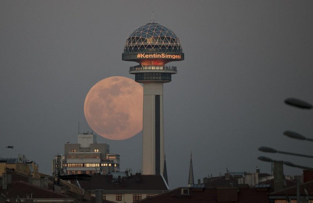 Yurttan 'Süper Solucan Ay' manzaraları - 4
