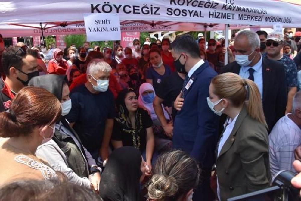 Muğla'da 'orman şehidi' törenle son yolculuğuna uğurlandı - 33