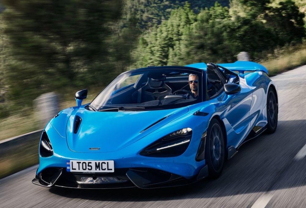 McLaren tarihinin en hızlı üstü açık modeli tanıtıldı:  765LT Spider - 10