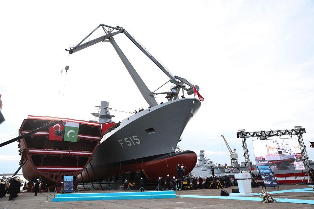 Milli fırkateyn 'İstanbul' denize indirildi (Türkiye'nin yeni nesil yerli silahları) - 2