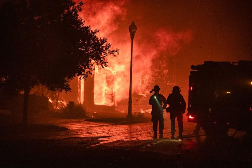 California'da yangınlar bitmiyor - 4