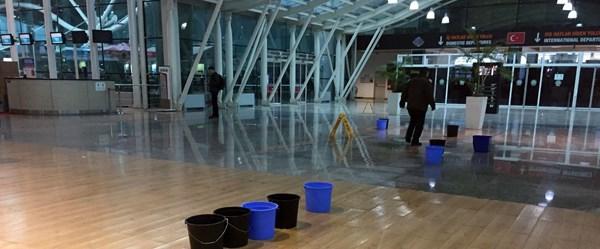 Havalimanında şaşırtan kare