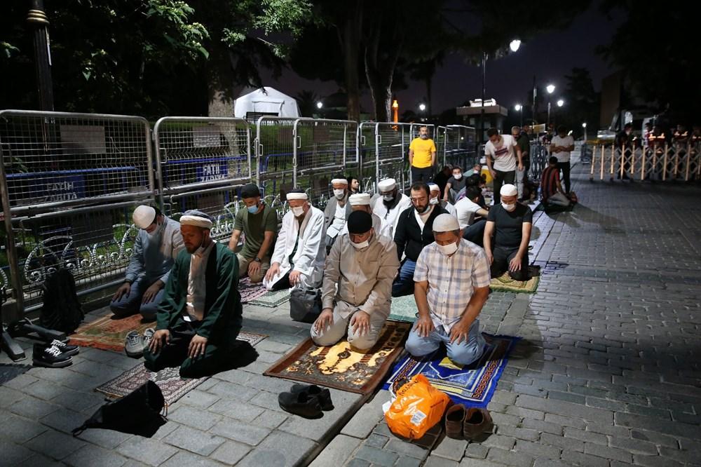 Ayasofya-i Kebir Camii Şerifi ibadete açıldı (Ayasofya'da 86 yıl sonra ilk namaz) - 11