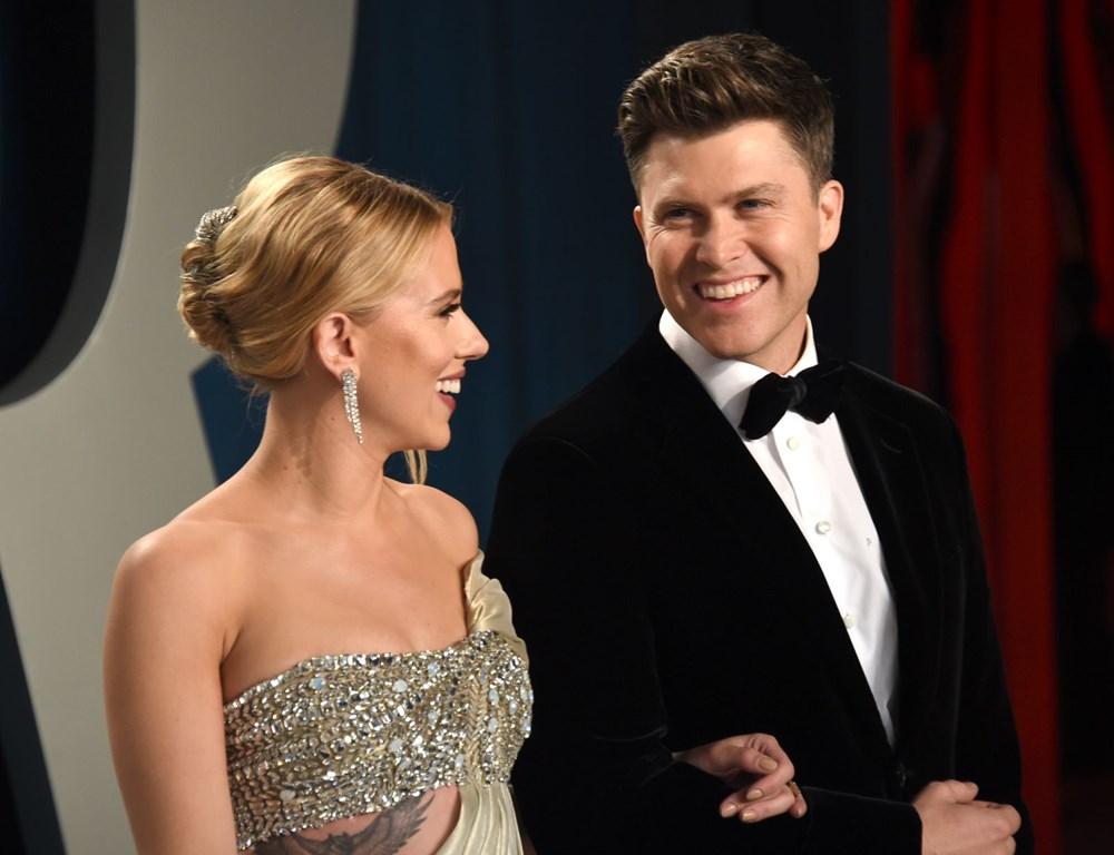 Scarlett Johansson ile komedyen Colin Jost evlendi - 5