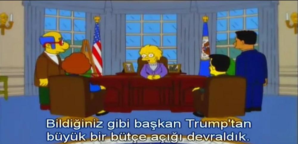 Simpsonlar'ın (The Simpsons) kehaneti yine tuttu: Biden ve Harris'in yemin törenini 20 yıl önceden bildiler - 17