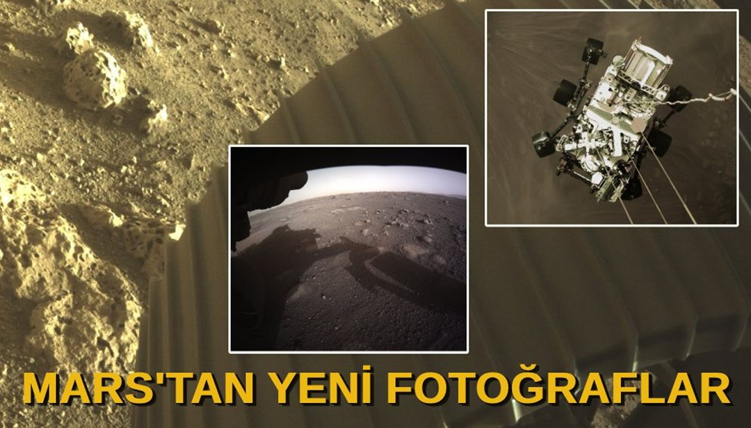 NASA, Mars'tan yeni fotoğraflar paylaştı