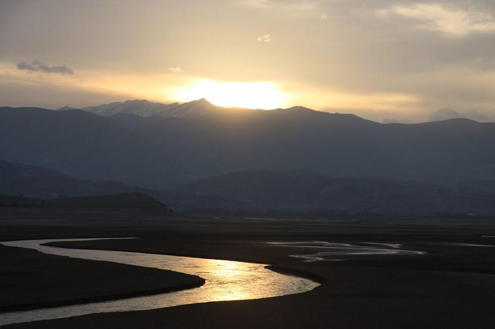Barajdan geriye nehir yatağı kaldı - 10