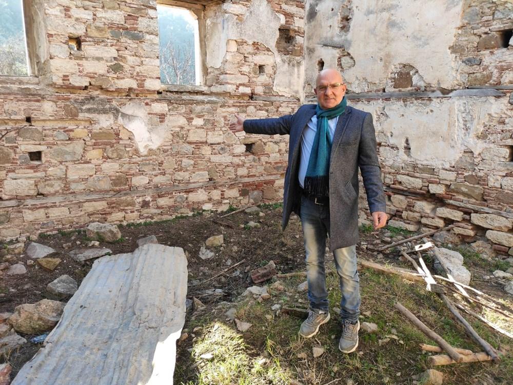Bursa'da tarihi Aya Yani Kilisesi definecilerin hedefi oldu - 5