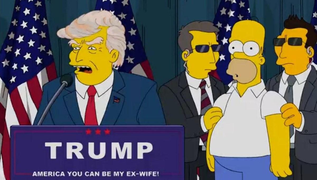 Simpsonlar (The Simpsons) Donald Trump'a oy vermemek için 50 neden sıraladı