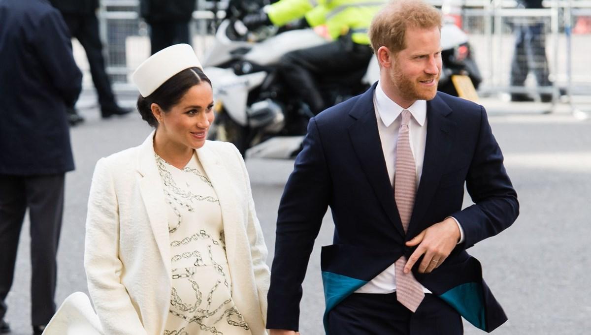 Prens Harry ile Meghan Markle İngiltere'ye gidecek