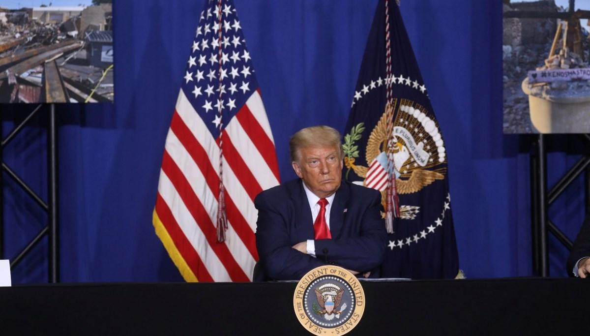 Trump: ABD'dekiler barışçıl gösteri değil, iç terör eylemleri