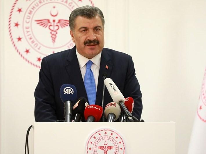 Sağlık Bakanı Koca: Test sonucu pozitif çıktı (Türkiye'de ilk Corona virüsü vakası)