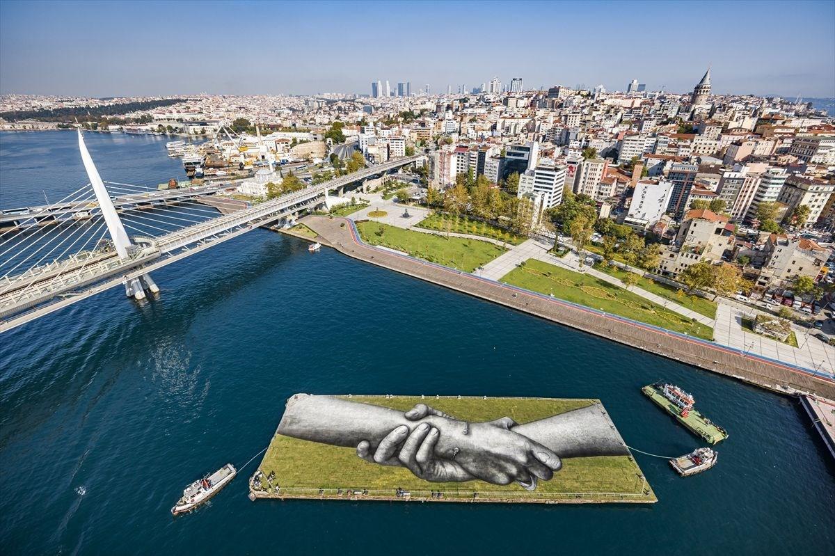 Dünyanın en büyük insan zinciri İstanbul'dan geçiyor