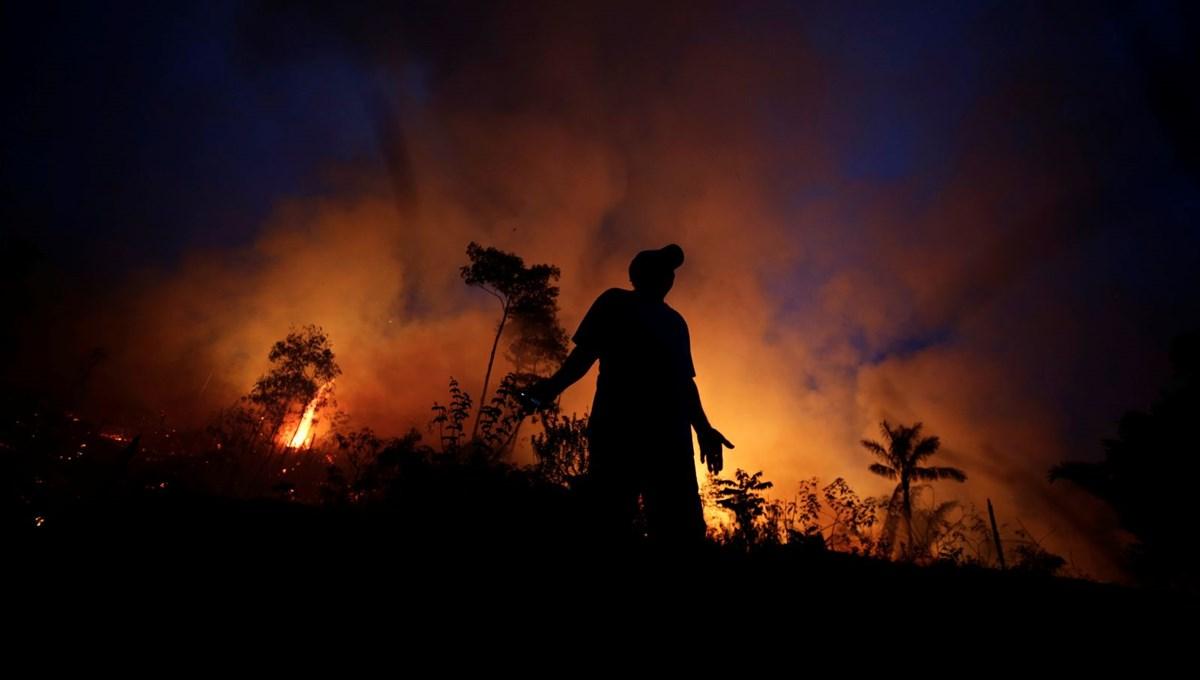 Bolsonaro artan Amazon yangınlarını yalanladı