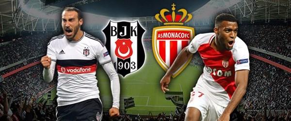 Beşiktaş - Monacomaçı ne zaman, saat kaçta, hangi kanalda canlı yayınlanacak?