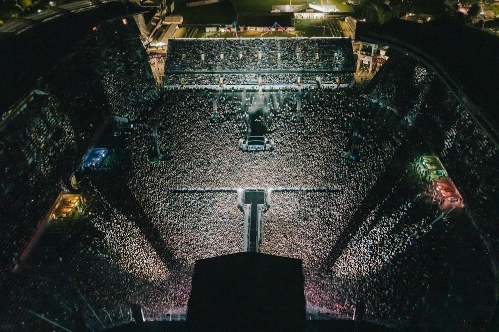Dünya karantinadayken Yeni Zelanda'da 50 bin kişilik konser - 22