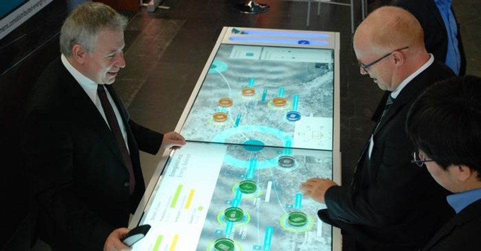 Siemens şirketinin simülasyonu