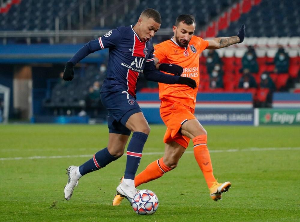 PSG'ye 5-1 yenilen Başakşehir Avrupa'ya veda etti - 6