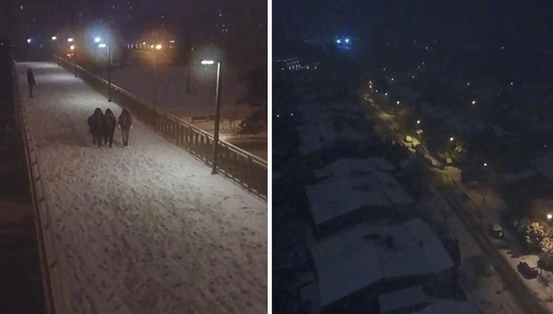 Hava durumu... İstanbul'da kar yağışı (Bugün hava nasıl olacak?)