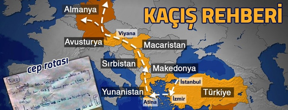 İstanbul'dan İzmir üzeri Kos adası ve sonrasında Atina'dan karayolu ile Almanya... (Cep kılavuzu)