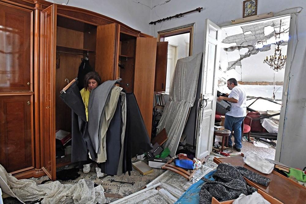 Harabelerin ortasındaki Lübnan halkı: Binlerce kişi evsiz - 9