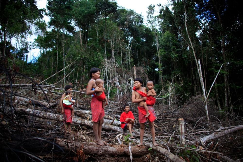 Amazon'un son  kabilesi altın avcıları nedeniyle tehlikede - 6