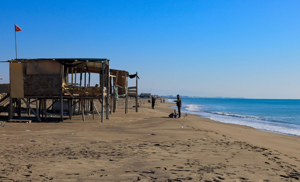 Lüks tatilin bedavaya sunulduğu 'Çardak Beach' çöplük oldu - 9