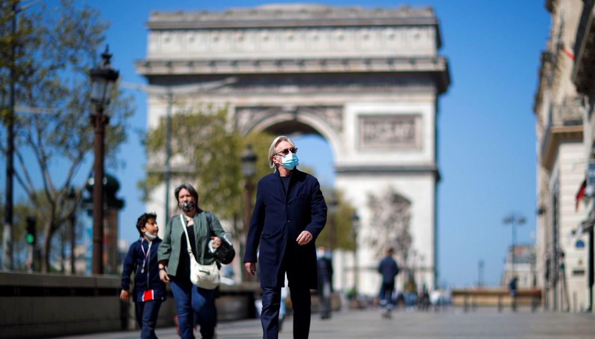 Fransa'da Covid, 2021'in en düşük seviyesine geriledi