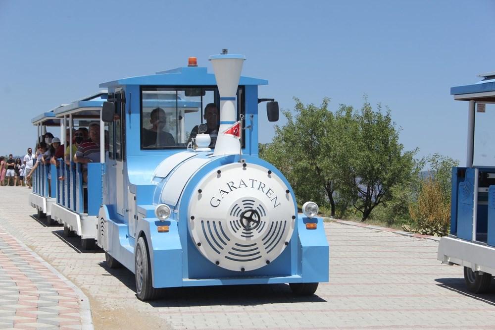 Salda Gölü'ne araç girişi yasaklandı, 'Gara Tren' dönemi başladı - 4