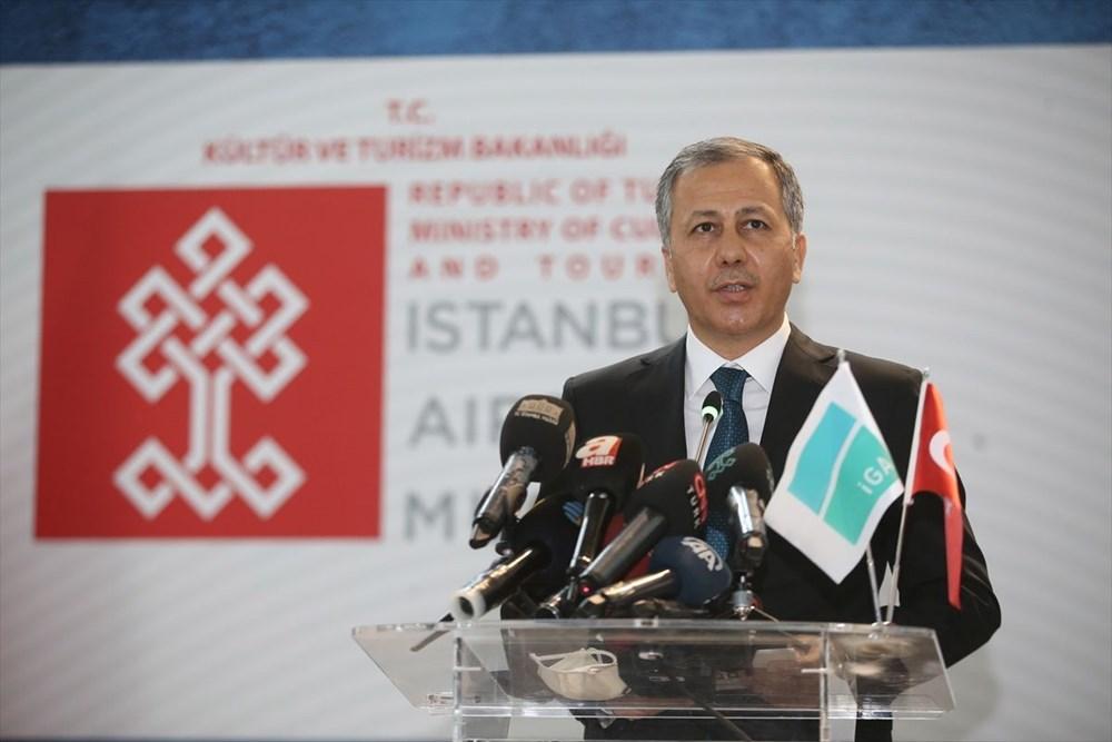 İstanbul Havalimanı Müzesi 'Türkiye'nin Hazineleri-Tahtın Yüzleri' sergisiyle açıldı - 6