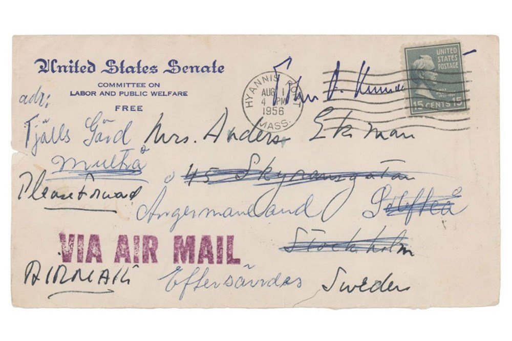 John F. Kennedy'nin hərracda qadağan edilmiş sevgi üçün yazdığı məktub - 3