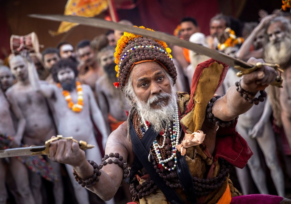 Hacılar Ganj Nehri'nde yıkandı: Hindistan'da günlük vaka sayısı rekor kırdı - 15