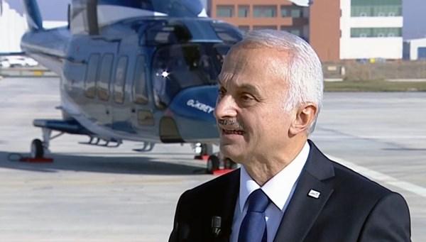 TUSAŞ Genel Müdürü Temel Kotil, projelerde son durumu NTV'ye anlattı